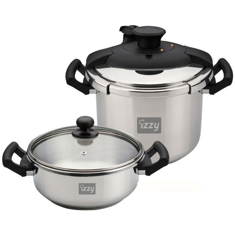 izzy multi set 8lt 4lt cookware